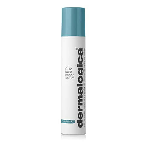 Dermalogica C-12 Pure Bright Serum (1.7 Fl Oz) Hyperpigmentation Treatment Face Serum - Brightens Skin To Improve Clarity and Minimize Discoloration