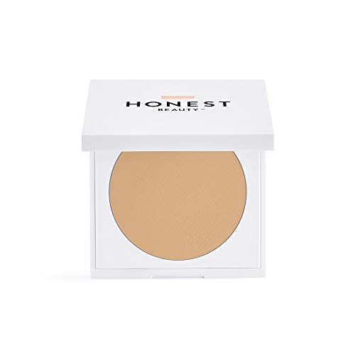 Honest Beauty Everything Cream Foundation, Linen | Demi-Matte, Lightweight, Medium-to-Full Coverage | Talc Free, Dermatologist Tested, Cruelty Free | 0.31 oz.