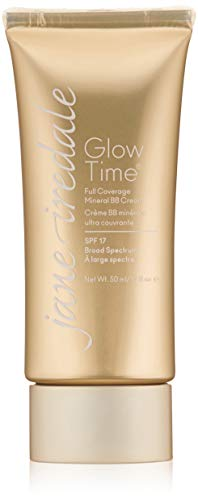 jane iredale Glow Time Full Coverage Mineral BB Cream, BB9, 1.7 Fl Oz