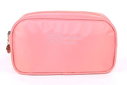 Insulated Makeup Bag, Basic Bish Pink