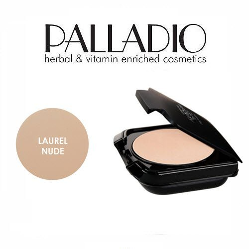2 Pack Palladio Beauty Herbal Dual Wet & Dry Foundation 400 Laurel Nude
