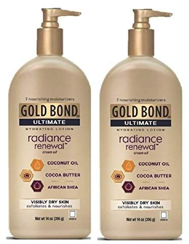 Gold Bond Ultimate - Radiance Renewal Hand And Body Lotions 14oz - 2-PACK