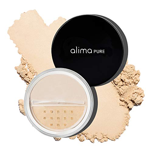 Alima Pure Satin Matte Foundation - Foundation Powder - Mineral Makeup (0.23 oz/ 6.5 g) | Beige 2