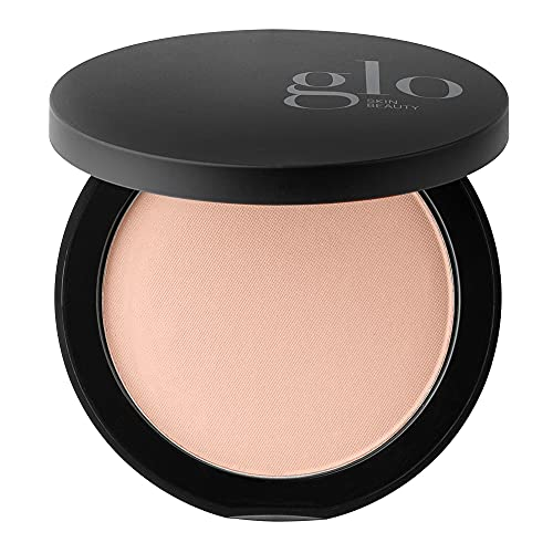 Glo Skin Beauty Pressed Base   Mineral Pressed Powder Foundation with Talc-Free & Paraben-Free Formula   Breathable & Buildable Coverage, Matte Finish