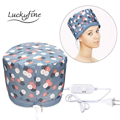 110V Hair Care Hat, Hair SPA Cap, Waterproof Home Hair Thermal Care Electric Hair Treatment Beauty Steamer Perfect for Family Personal Care