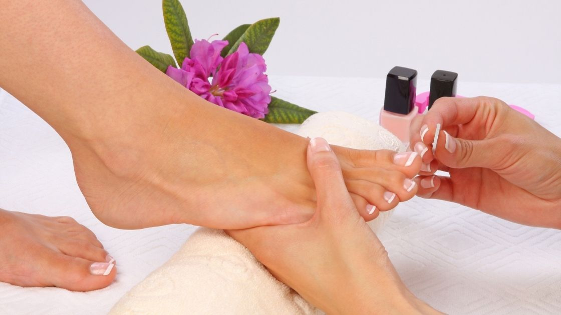 Types of pedicures